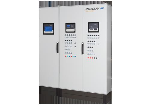Microfan ontwikkelt en produceert elektrische besturingskasten voor de automatisering van uw stal.